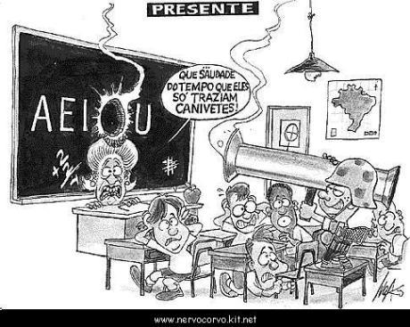 Alunos armados (Escolas são alvos da atuação de traficantes)