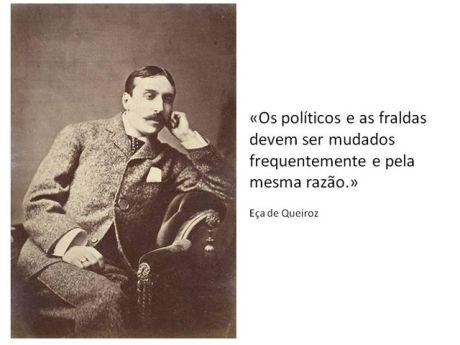 Eça de Queiroz e sua frase que serve para qualquer período da história mundial