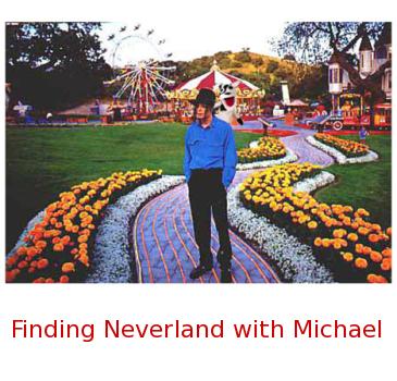 Michael Jackson em seu rancho Neverland