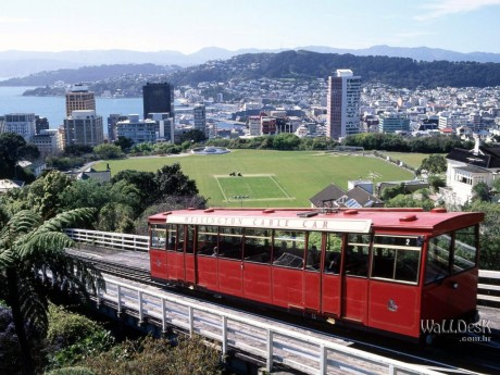Wellington, New Zealand (Capital da Nova Zelândia)